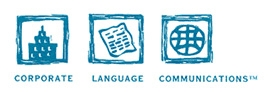 Corporate Language Communications Logo